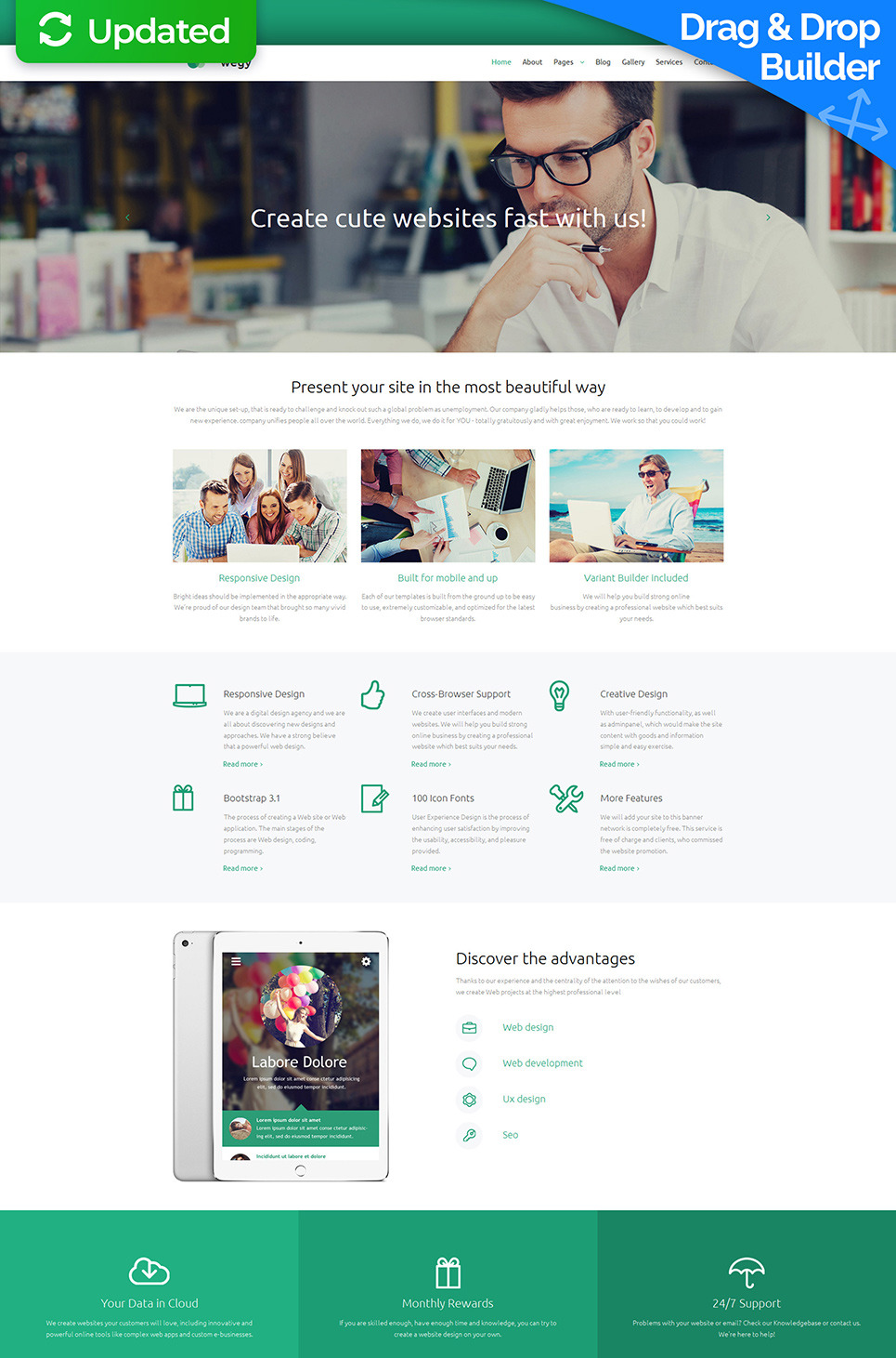 Design Studio Responsive Moto CMS 3 Template New Screenshots BIG