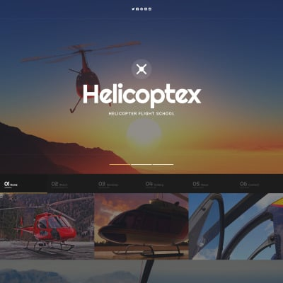 Modèle Web adaptatif  pour site d'école de pilotage