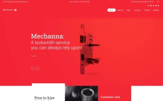 Mechanna - Locksmith WordPress Theme