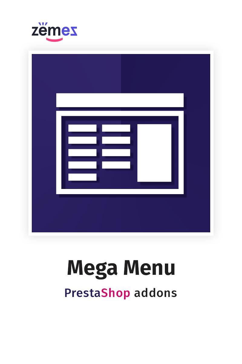 MegaMenu PrestaShop kiterjesztés 58653