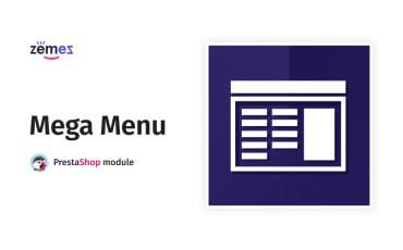 MegaMenu PrestaShop module