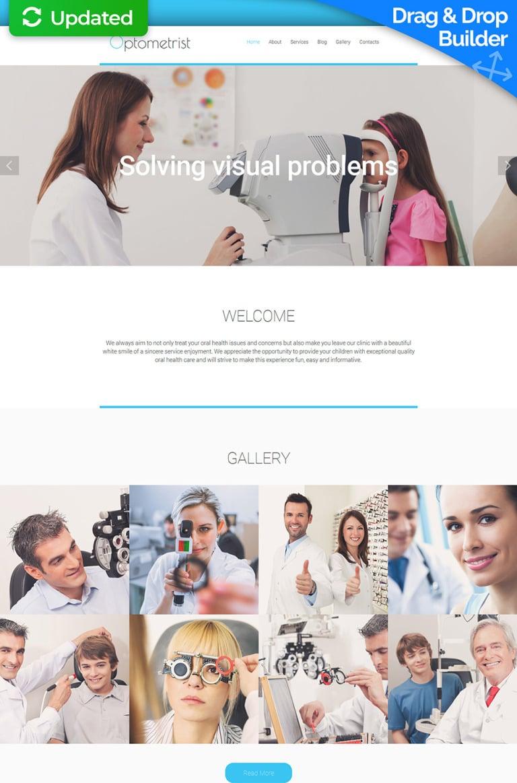 Optometrist's Responsive Moto CMS 3 Template New Screenshots BIG