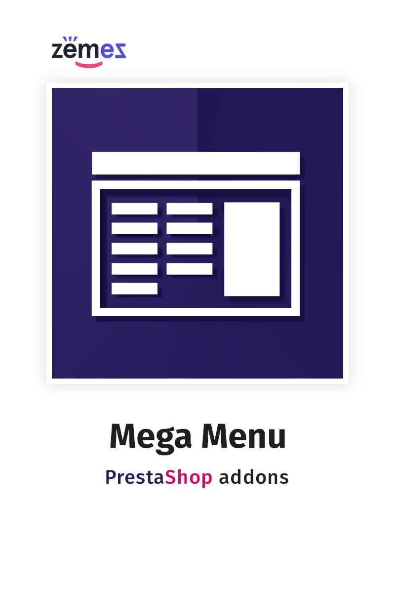 PrestaShop moduł MegaMenu #58653