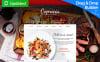 Responsive İtalyan Restaurant  Moto Cms 3 Şablon New Screenshots BIG