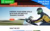 Responzivní Moto CMS 3 šablona na téma Auta New Screenshots BIG