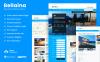 Reszponzív Bellaina - egy reszponzív ingatlan ügynökségi sablon WordPress sablon New Screenshots BIG
