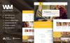 Reszponzív Iparművészeti  WordPress sablon New Screenshots BIG