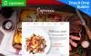 Reszponzív Olasz étterem  Moto CMS 3 sablon New Screenshots BIG