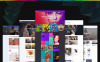 "Tema WordPress Responsive #58671 ""Blogging GPL Bundled"" New Screenshots BIG"