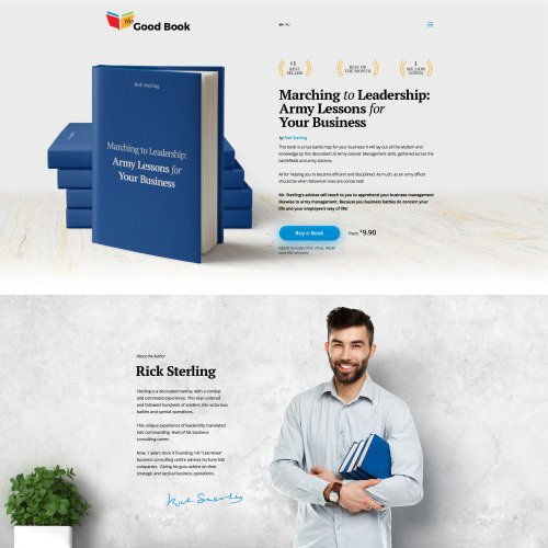 The Good Book - Website Template based on Bootstrap