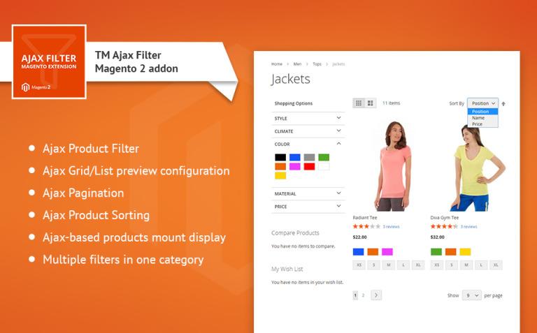 TM Ajax Catalog Filter Magento Extension New Screenshots BIG