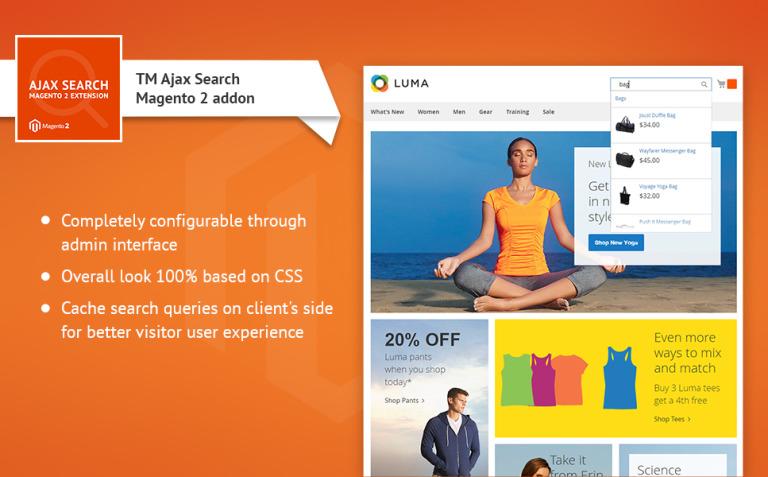 TM Ajax Search Magento Extension New Screenshots BIG