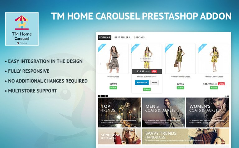 TM Home Carousel PrestaShop Module New Screenshots BIG