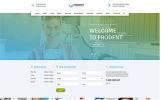 "Website Vorlage namens ""Dentik - Zahnmedizinische Klinik"""