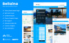 "WordPress Theme namens ""Bellaina"" New Screenshots BIG"