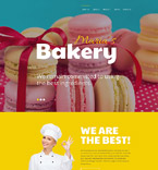 Food & Drink Website  Template 58701