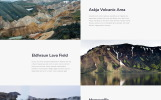 """Ice Travel - Travel Agency Multipage Classic HTML5"" 响应式网页模板"