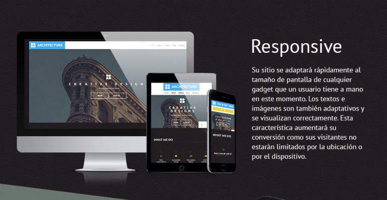 Tema de WordPress #58705 para Sitio de Arquitectura