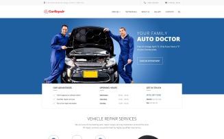 Car Repair - Car Repair Service Responsive Website Template