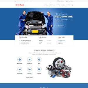 Screenshot of Car Repair Recovery