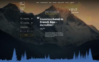 11 rooms Responsive Website Template