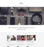 Fashion Website  Template 58721