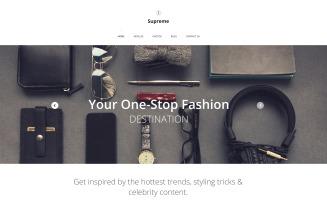 Supreme Website Template