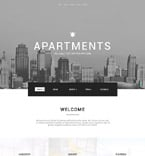 Real Estate Website  Template 58726
