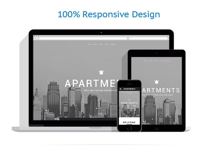 Modèles HTML5 Immobilier #58726