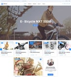 Sport Website  Template 58730