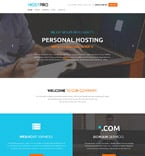 Web Hosting Website  Template 58733