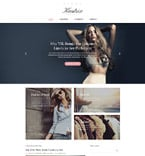 Fashion Website  Template 58734