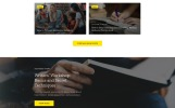 Responsive Evan Robertson - Personal Multipage Clean HTML Bootstrap Web Sitesi Şablonu