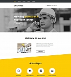 Architecture Moto CMS HTML  Template 58744