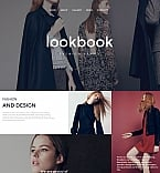 Fashion Moto CMS HTML  Template 58745
