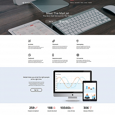 Купить  пофессиональные Moto CMS HTML шаблоны. Купить шаблон #58746 и создать сайт.
