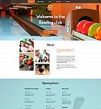 Sport Moto CMS HTML  Template 58750
