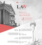 Law Website  Template 58753
