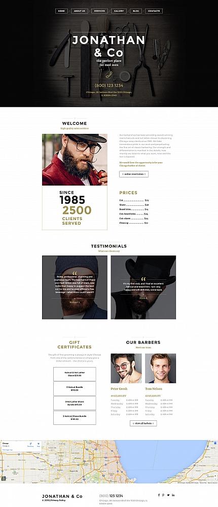 ADOBE Photoshop Template 58756 Home Page Screenshot