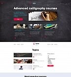 Education Moto CMS 3  Template 58767