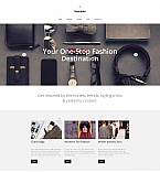 Fashion Moto CMS 3  Template 58770