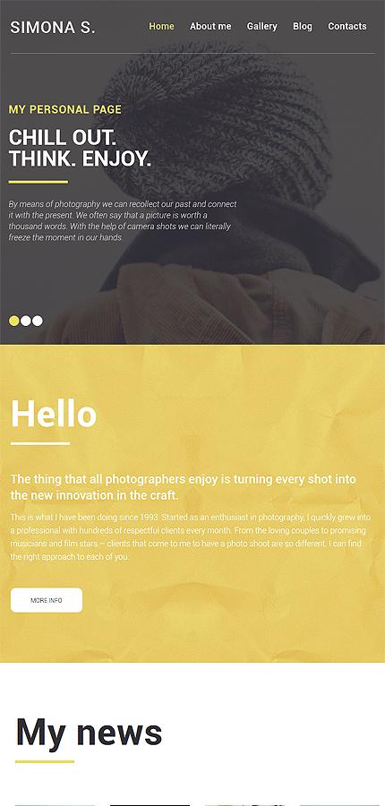 WordPress Theme/Template 58775 Main Page Screenshot