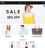 Fashion Magento Template 58777