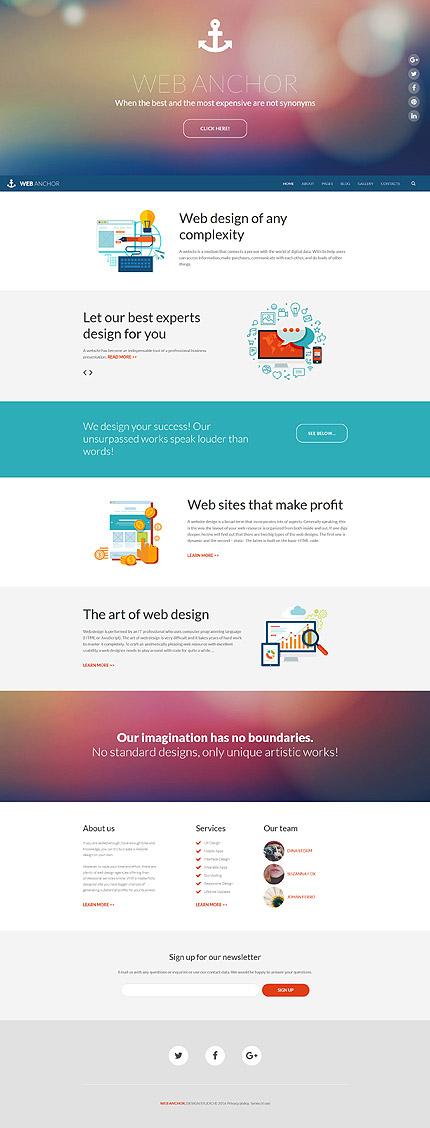 Joomla Theme/Template 58781 Main Page Screenshot