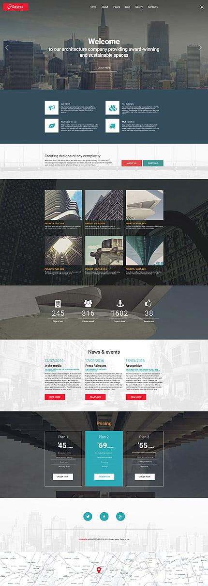 Joomla Theme/Template 58782 Main Page Screenshot