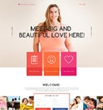 Dating Website  Template 58784