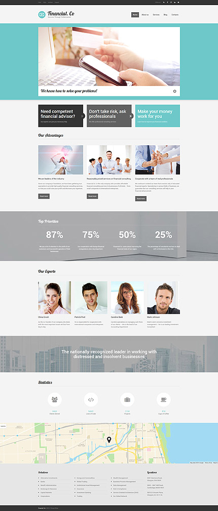 Drupal Template 58785 Main Page Screenshot