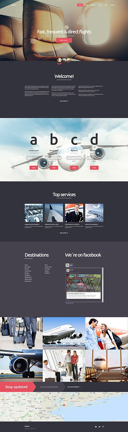 Joomla Theme/Template 58787 Main Page Screenshot