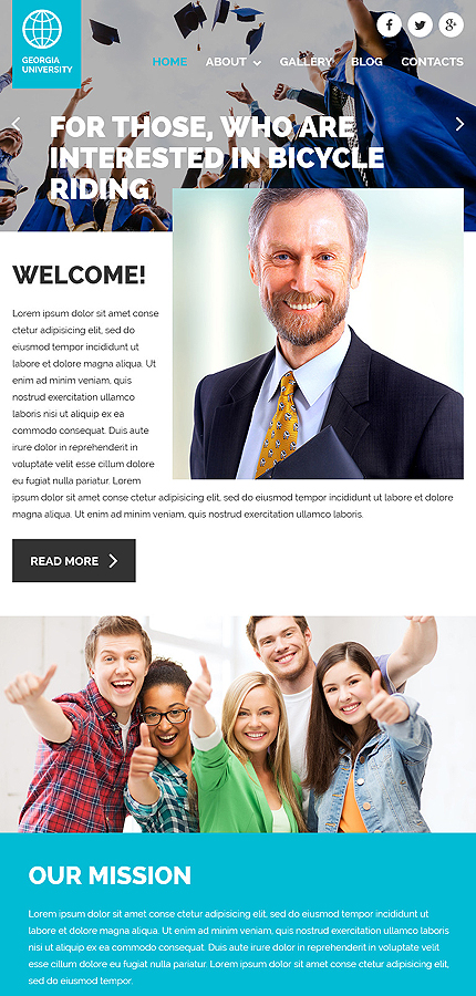 Joomla Theme/Template 58788 Main Page Screenshot