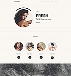 Fashion Moto CMS 3  Template 58789